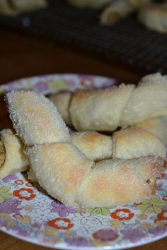 Hungarian Nut cookies recipe (cream cheese dough rolled with nut & white raisin filling)