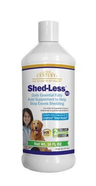 Shed-Less™ D3 for Dogs- 21st Century Pet Health $19.99 http://www.21stcenturypet.com/product-dog.asp?i=1060=1