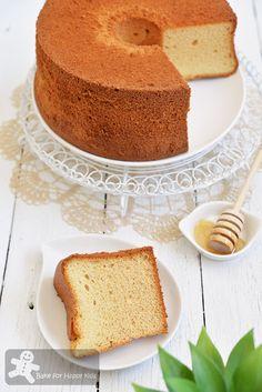 Bake for Happy Kids: Ultra Soft Perfect Honey Chiffon Cake