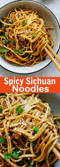 Spicy Sichuan Noodles – cold noodles in a spicy, savory and numbing Sichuan sauce. This Sichuan noodles recipe is so addictive and delicious | rasamalaysia.com