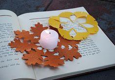 fall kirigami decorations