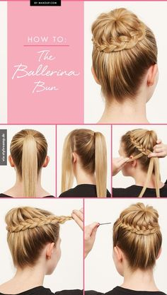 The Ballerina Bun #braid #braided #bun #updo #hair #hairstyle #hairstyles #long #thick #beautiful #style #beauty #fashion #celebrity #hollywood #red #carpet #glamorous #luxury #wavy #waves #curly #curls #straight #ponytail #chignon #elegant #bride #bridal #wedding #inspiration #ideas #engaged #engagement #boho #bohemian #diy #prom #fancy #hair #clipin #extensions
