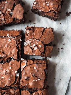 Rich, fudgy brownies studded with walnuts and a sprinkling of flaky salt Ultimate Brownie Recipe, Fudgy Brownie Recipe, Chewy Brownies, Brownie Ingredients, Best Brownies, Brownie Bar, Brownie Recipes, Delicious Desserts, Dessert Recipes
