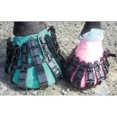 Horsecrocz is a unique reusable hoof boot which solves the horse owners problem of keeping important hoof dressings in place or protecting a damaged horse hoof. Designed, developed and manufactured in Britain by a horse owner for horse owners, Horsecrocz are quick and easy to fit and remove; providing a very practical and cost effective solution to many horse hoof related problems.