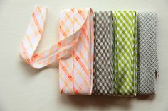 Continuous Bias Tape Tutorial: because the bias tape premade in stores is so boring!