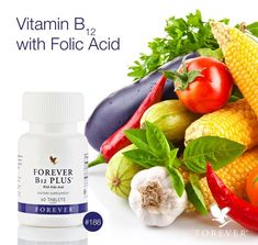 A combination of essential nutrients. Forever B12 Plus® combines Vitamin B12 with Folic Acid utilizing a time-release formula to help support metabolic processes, cell division, DNA synthesis, red blood cell production and proper nerve function.  https://www.youtube.com/watch?v=a4Qd30aVLeo http://360000339313.fbo.foreverliving.com/page/products/all-products/2-nutrition/188/usa/en Need help? http://istenhozott.flp.com/contact.jsf?language=en Buy it…