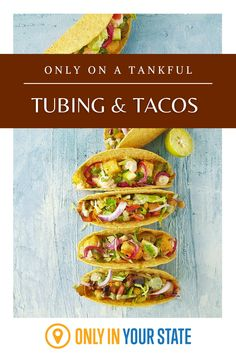 Enjoy the best, most delicious tacos and a river tubing adventure on this summer road trip through Ohio. Healthy Taco Recipes, Healthy Tips, Mexican Food Recipes, Dinner Recipes, Vegan Meals, Soup Recipes, Taco Side Dishes, Healthy Side Dishes, Vegan Tacos