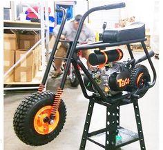 357 Mini Bike, New, Fully Assembled, SF Themed World Series Custom Mini Bike, Mini Motorbike, Tracker Motorcycle, Bike Kit, Drift Trike, Pit Bike, Bikes For Sale, Mini Trucks, Bike Frame