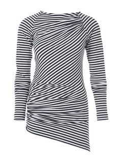122 0114 B Burda Shirt A-symetrisch