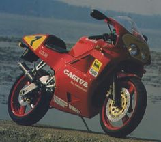CAGIVA MITO 125 : cagiva mito 125 paintwork schemes , racing editions & model variations