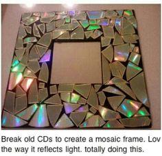 DIY picture frame