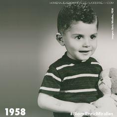 #BiogrEnricMiralles Aquel niño con cara de bueno acabará convirtiéndose en l'enfant terrible de su generación