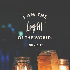 Jesus Christ - The World's Savior and Redeemer Light Of The World, Light Of Life, Scripture Verses, Bible Scriptures, Bible Quotes, Jesus Bible, Bible Teachings, Your Soul, Verse Of The Day