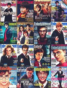 Entertainment Weekly Harry Potter