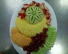 Resultado de imagem para decoração de frutas