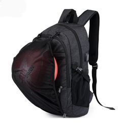 Cheap backpack for, Buy Quality backpack for teenagers directly from China backpacking backpack Suppliers: Laptop USB Charging School Basketball Backpack For Teenagers Outdoor Sport Football Male Women Fitness Gym Bag Sac De Sport Backpack For Teens, Men's Backpack, Fashion Backpack, Boys Backpacks, School Backpacks, Usb, School Bags For Boys, Gym Workouts Women, College Bags