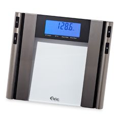 To make stepping on the scale a bit easier, try the Conair/Weight Watchers WW97. Weight, body fat, water content, and bone mass all appear on-screen at once.