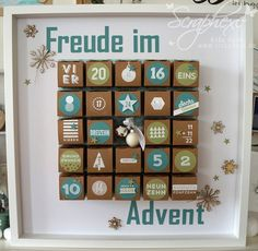 #Adventskalender, Ribba, #scraphexe, #24Tuerchen