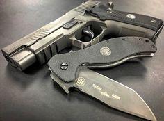 Sig Sauer P226 Legion LEGION TRAILING TANTO KNIFE BY ERNEST EMERSON