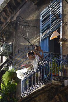 Balcony, La Habana, Cuba
