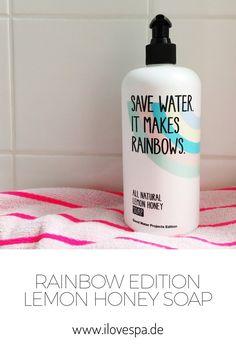 Stop The Water While Using Me All Natural Lemon Honey Soap Rainbow Edition - Limitierte Handseife Naturkosmetik