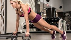 WWE Diva Charlotte's Kettlebell Workout | Muscle & Fitness
