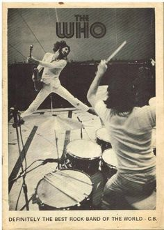 Pete Townshend and Keith Moon Rock Posters, Concert Posters, Rock N Roll Music, Rock And Roll, Great Bands, Cool Bands, Pete Townshend, Best Rock Bands, Pop Rock