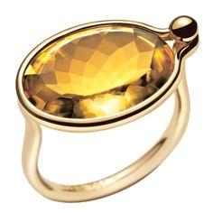 Georg Jensen Savannah Ring by Vivianna Torun Bülow-Hübe Denmark - Price $1,560