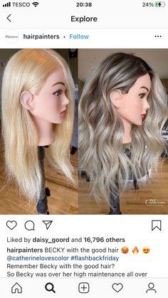 Ashy Blonde Hair, Blonde Hair Looks, Brown Hair Balayage, Hair Color Balayage, Ombre Hair, Blond Hair With Lowlights, Ashy Blonde Highlights, Low Lights Hair, Light Hair