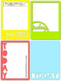 kim watson ★ paper crafts ★ designs: Free cutting file + CK layouts