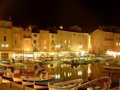 Saint-Tropez by night