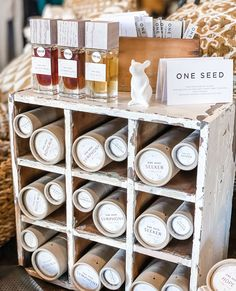 100% natural @oneseedperfumes available in our Beechworth & Fitzroy stores 🕊️ The One, Thats Not My, Seeds, Bohemia, Grains