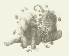 Jillian Ludwig (Dickson) Click on Image to View Full Series Graphite on Paper