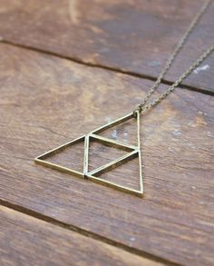 Triforce necklace #jewellery