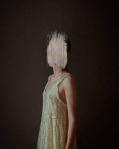 Mysterious Silent Girl Portraits by Andrea Torres