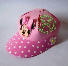 Gorra hecha en foami