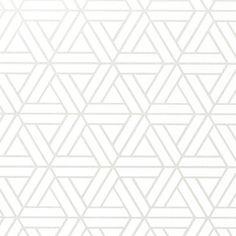 Graphique Géométrique Papier Peint Blanc Rouge Collez Le Mur Texturé Vinyle Erismann
