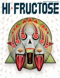 Hi-Fructose art mag.  Technically not a 'book' but it *is* a fantastic read for any graphic arts fan.