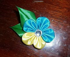 Basic Satin Ribbon Flower ~ ?