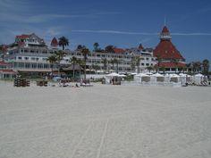 "The famous Hotel Del Coronado. ""Some Like It Hot"" was filmed here."
