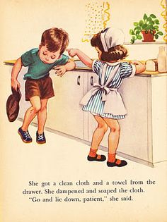 """This is from """"Nurse Nancy"""" I read this at 5 yrs old and wanted to be a nurse since then."""