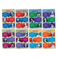 GREAT WOMEN OF AMERICA BBS | by TeachersParadise.com | Teacher Supplies & School Supplies