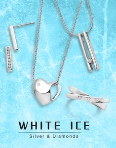 Ice Ice, Baby! Modern, stylish, and timeless pieces to sparkle and shine all year long. #QualityGold #Diamond #BestSelling #Jewelry #Trending #Style #DiamondJewelry #WhiteIce
