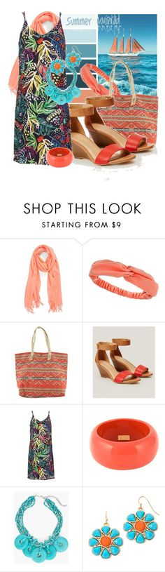 """Nasturtium Tote Handbags"" by tasha1973 ❤ liked on Polyvore featuring Nordstrom, Dorothy Perkins, O'Neill, LOFT, Topshop, Dsquared2, Chico's and Liz Claiborne"