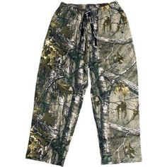 Men's Camo (Green) Sweatpants, Size: Medium