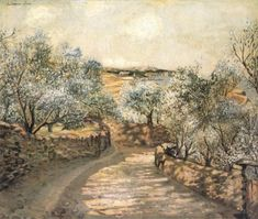 """The Lane to Port Ligat with View of Cape Creus"" by Salvador Dali. 1922-23 oil on canvas. In the collection of The Dali Museum, St Petersburg, FL"