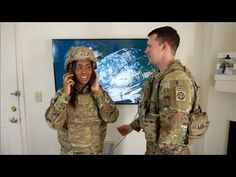 Military Wife Wears FULL COMBAT ARMOR!! || Episode 6 - YouTube Military Families, Military Wife, Military Jacket, Combat Armor, Combat Gear, Youtube, How To Wear, Fashion, Moda