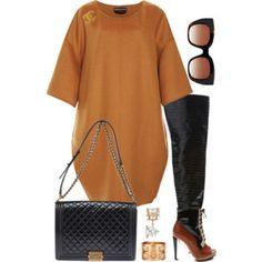 featuring Rodarte, Rochas, Chanel, Thierry Lasry, Allurez and Hermès Fashion Killa, Look Fashion, Fashion Outfits, Womens Fashion, Fashion Tips, Estilo Fashion, Ideias Fashion, Stylish Outfits, Fall Outfits