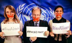 via Twitter  JAMES BAYS @JAMES BAYS #FreeAJStaff