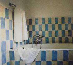 """F. MILLER on Instagram: """"Salles de Bains de Caractère, Deidi Von Schaewen, 1996 via @slow_roads"""" Wall Patterns, Dream Decor, Bathroom Interior, Architecture, Decoration, Habitats, Whiskey, Living Spaces, House Design"""